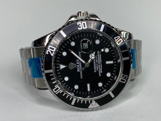 Reloj Submariner Negro 44mm Quarzo