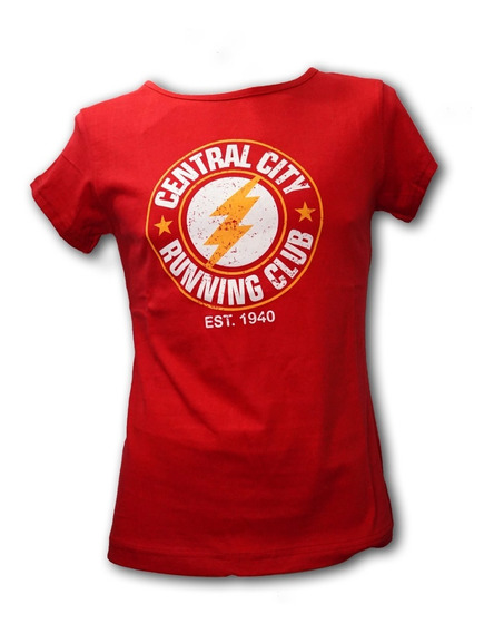 Remera, Dc, Flash Central City Dama Accoriginals
