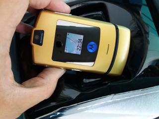 Motorola V3i Color Dorado .libre.nuevo.$1699 Con Envío