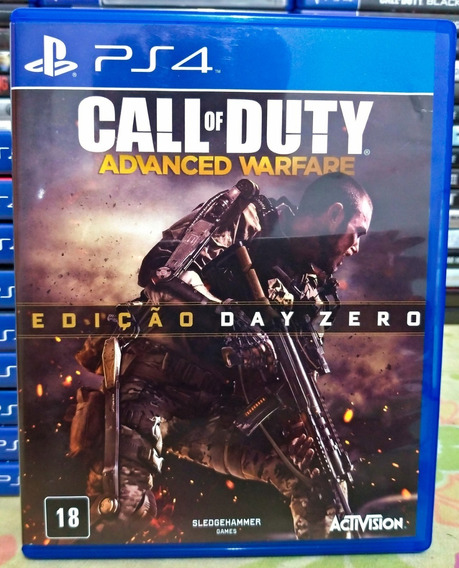 Call Of Duty Advanced Warfare Cod Ps4 Mídia Física Português