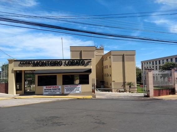 Apartamento Com 3 Dormitórios Para Alugar, 80 M² Por R$ 950,00/mês - Jardim Carvalho - Ponta Grossa/pr - Ap0325