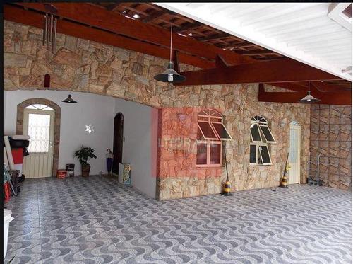 Casa Com 4 Dormitórios À Venda, 199 M² Por R$ 600.000 - Monte Castelo - São José Dos Campos/sp - Ca1293