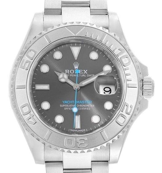 Relógio Eta - Mod. Yacht-master - Base Eta 2840. Aço 904l