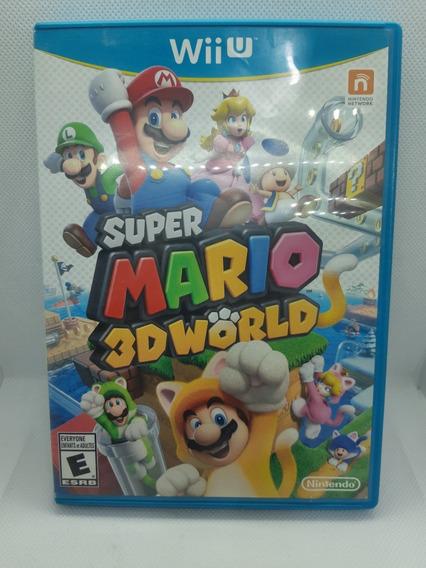 Super Mario 3d World Wii U Americano Mídia Física