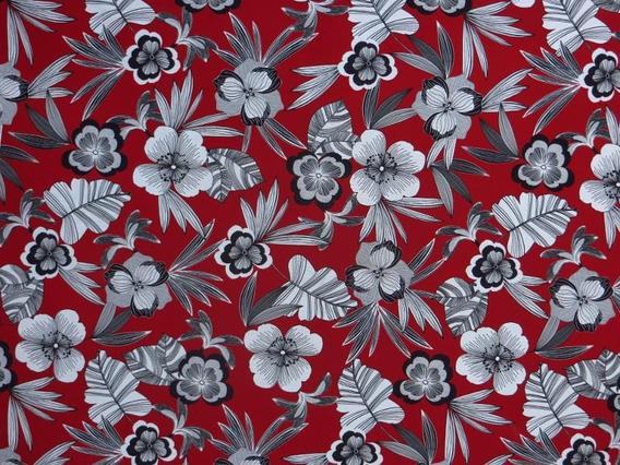 Tecido Impermeável Flores Brancas Decoração Sofá Parede