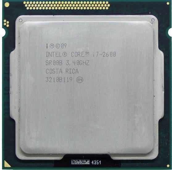 Processador I7 2600