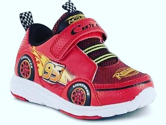 Zapatos Deportivos De Cars - Disney Con Luces
