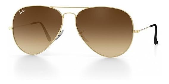 Óculos De Sol Ray-ban Aviador Original Masculino Feminino