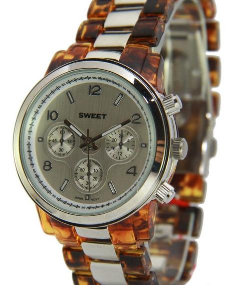 Reloj Sweet 1730 Acero Carey Nuevos Gtia 12m Tienda Oficial