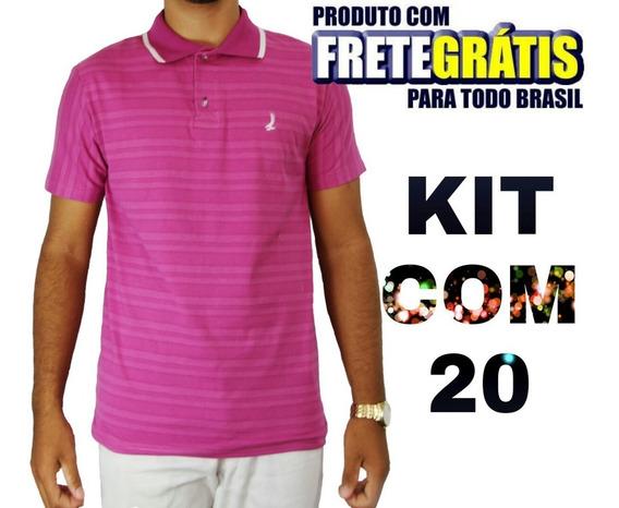 Camisas Gola Polo 20 Polo Masculina Compre Já - Frete Grátis