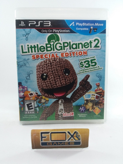 Ps3 Jogo Little Big Planet 2 (seminovo)
