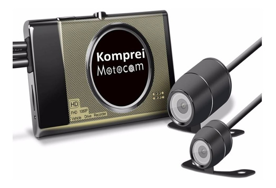 Filmadora E Câmera Dvr Para Moto - Exclusivo