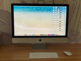 iMac 27 Procesador Intel Core I5 8gb Sdram D.duro 1tb 2013