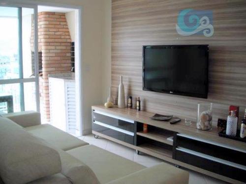 Imagem 1 de 20 de Apartamento À Venda, Praia Da Enseada -  Guarujá. - Ap3702