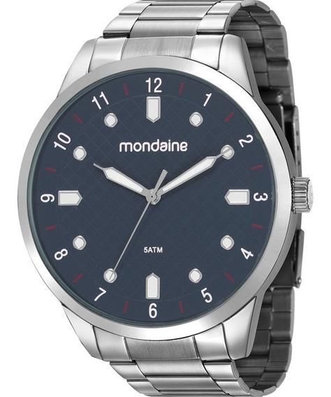 Relógio Mondaine Prata Masculino 53599g0mvne2