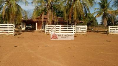 Fazenda Tocantins, Município De Peixes- Georeferenciada E Averbada- Tocantins - Fa0087