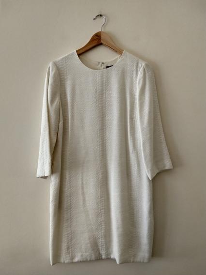 Vestido Blanco De Verano Importado. Vince