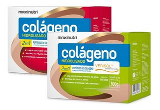 2 Colágeno Hidrolisado Verisol - 30 Sachês - Maxinutri