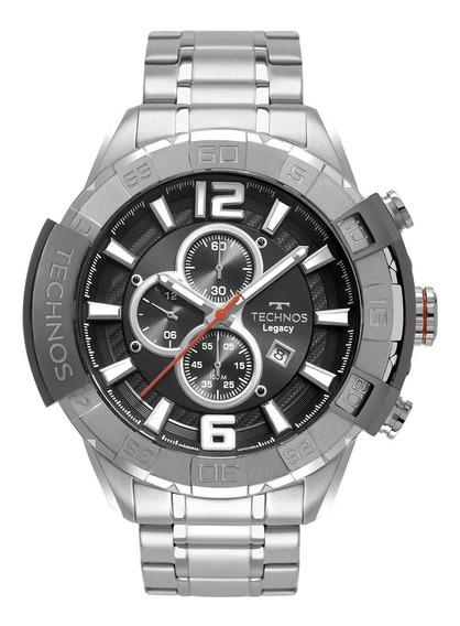 Relógio Masculino Technos Legacy Prata Os10fd/1c
