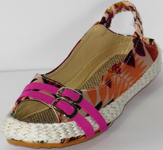 Sandalias Para Damas, Cocuizas Abuelitas Zapatilla Estampada