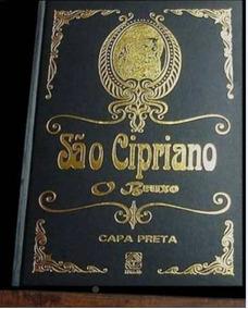 Livro De São Cipriano Capa Preta Original