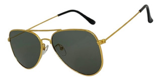 Óculos De Sol Aviador Unissex Parisian