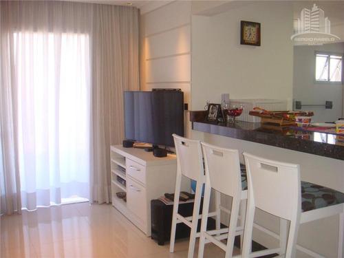 Imagem 1 de 20 de Apartamento Com 2 Dormitórios À Venda, 70 M² Por R$ 720.000,00 - Moema - São Paulo/sp - Ap1237