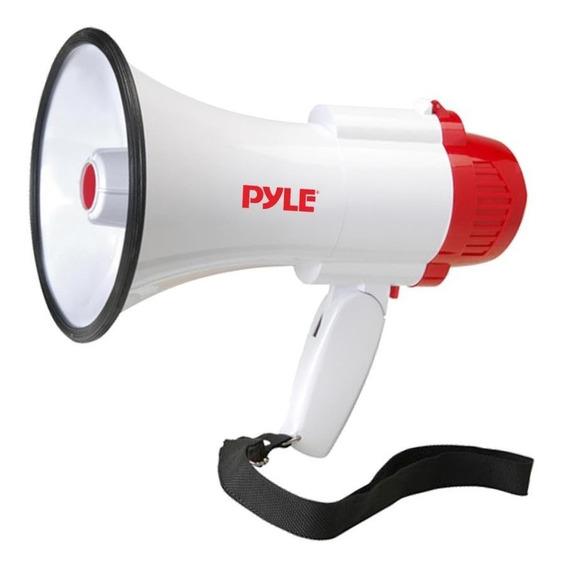 Pyle Megafono Pmp35r Control De Volumen 30w Memoria