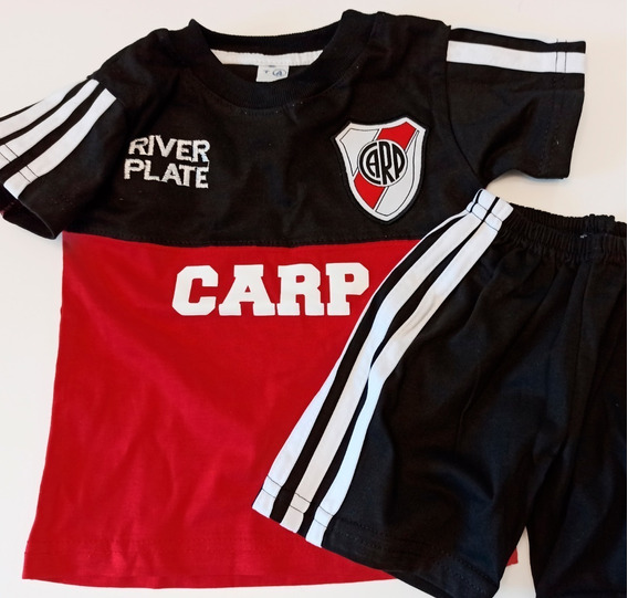 Conjunto River Plate Boca Juniors Niño Camiseta Short Bordad