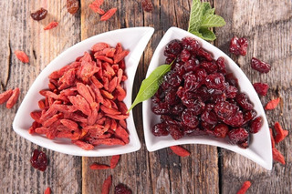 Goji Berry Desidratada 1kg + Cranberry Desidratada 1kg