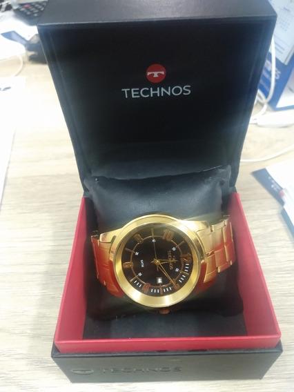 Relógio Technos Dourado
