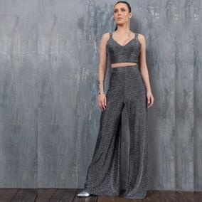Conjunto Pantalona Lurex Luxo _ Avizo Wear
