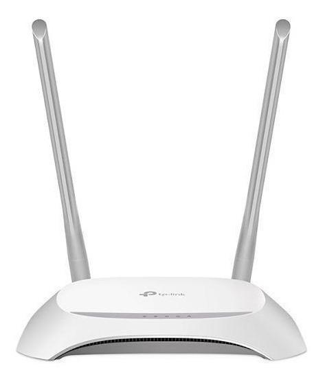 Roteador Wireless Tp-link Tl-wr849n 2 Antenas Novo Na Caixa