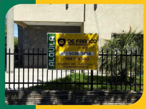 Imagen 1 de 21 de Inmueble Comercial Oficinas En Alquiler  - San Miguel