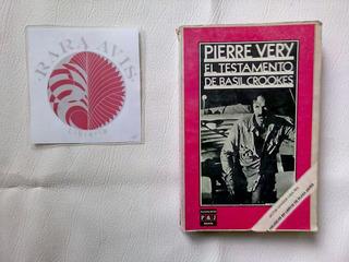 El Testamento De Basil Crookes, Pierre Very Ed Plaza & Janes