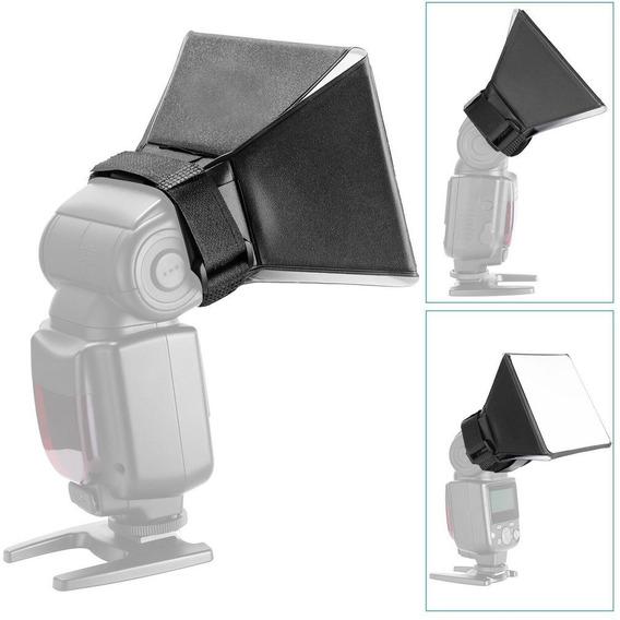 Mini Softbox Df5 Flash Speedlight Estudio Foto- 10% Desconto