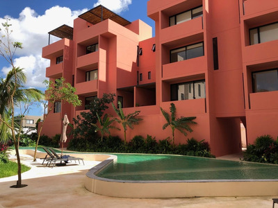 Moderno Departamento En Elena, Arbolada, Cancún.