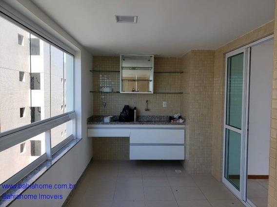Apartamento Nascente Com Vista Mar Para Vender Em Patamares Com115m², 3 Quartos E 1 Suíte - Salvador Ba - Ap00897rub