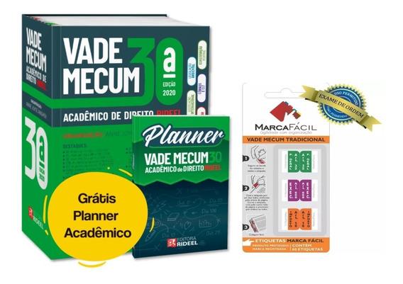 Vade Mecum Acadêmico Direito Rideel Atualizado + Etiquetas