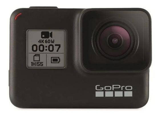 Câmera Digital Gopro Hero 7 Black 12mp Wi-fi 4k Ler Descrica