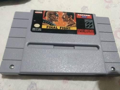 Final Fight Snes,original Pronta Entrega Envio Imediato