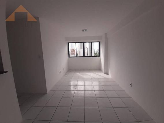 Apartamento Com 2 Quartos Para Alugar, 65 M² Por R$ 1.650/mês - Madalena - Recife/pe - Ap2278