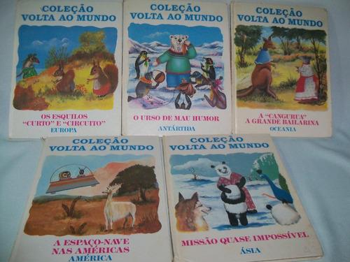 Livros Infantis Coleção Volta Ao Mundo