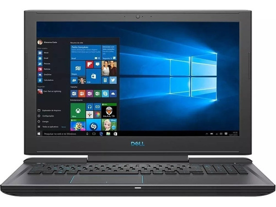 Notebook Dell Gamer G7 I7 32gb 1tb Ssd Nvme + 2tb Placa De Vídeo Dedicada Nvidia 1060 6gb 15.6 Full Hd Antirreflexo Ips