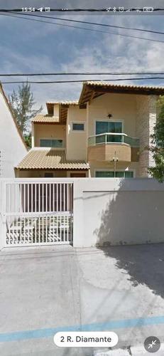 Casa Para Venda Em Cabo Frio, Portinho, 3 Dormitórios, 3 Suítes, 4 Banheiros, 2 Vagas - 065_2-424746