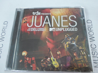 Juanes Unplugged Cd + Dvd Deluxe Disponible