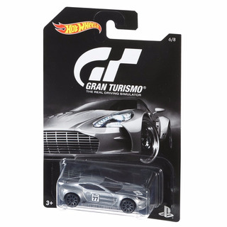 Veículos Hot Wheels Série Gran Turismo Aston Martin One