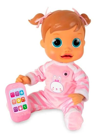 Boneca Baby Wow Analu Interativa Fala E Anda Multikids