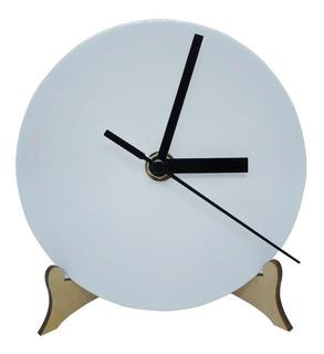 Reloj Para Sublimar De Polimero Redondo 13cm X10 Unidades