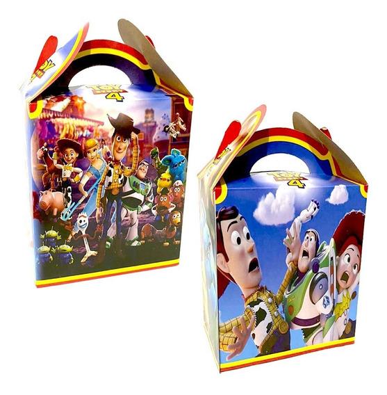 Toy Story 4 Caja Dulcera Aguinaldos Bolos Fiesta Toy Story 4
